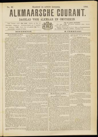 Alkmaarsche Courant 1906-02-15