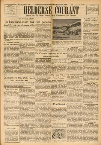 Heldersche Courant 1949-01-24