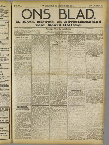 Ons Blad : katholiek nieuwsblad voor N-H 1911-12-13