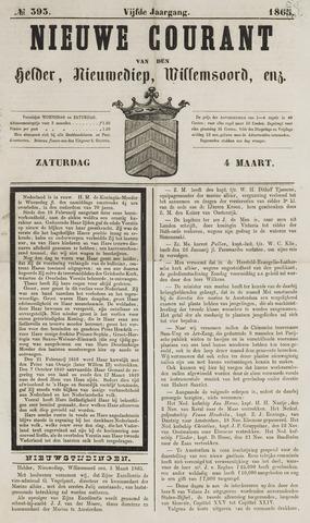 Nieuwe Courant van Den Helder 1865-03-04