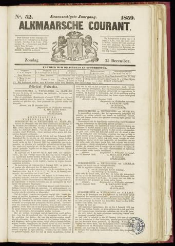 Alkmaarsche Courant 1859-12-25
