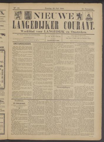 Nieuwe Langedijker Courant 1896-07-26