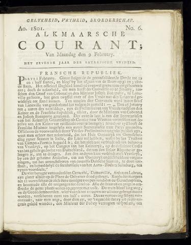Alkmaarsche Courant 1801-02-09