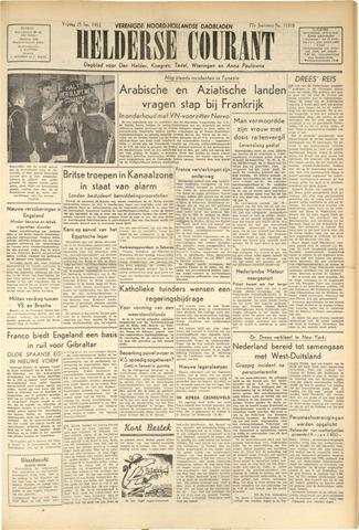 Heldersche Courant 1952-01-25