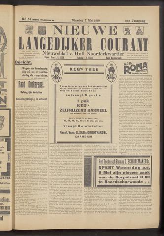 Nieuwe Langedijker Courant 1929-05-07