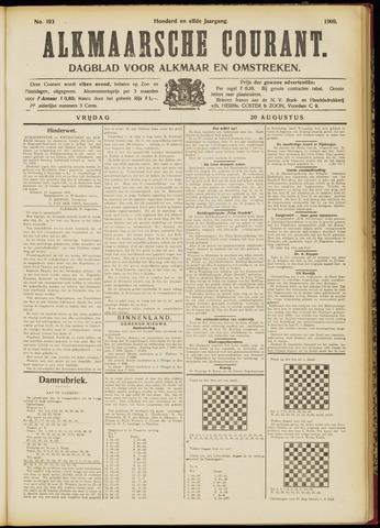 Alkmaarsche Courant 1909-08-20