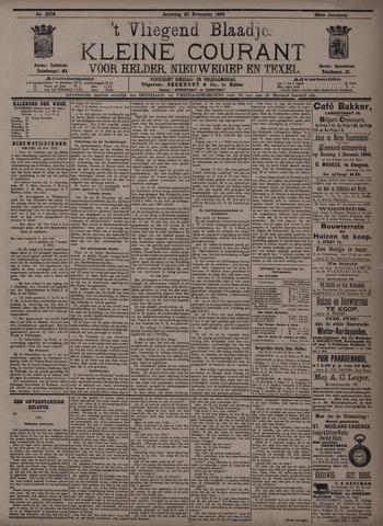 Vliegend blaadje : nieuws- en advertentiebode voor Den Helder 1895-11-23
