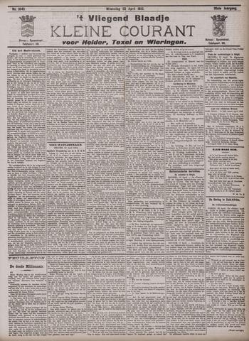 Vliegend blaadje : nieuws- en advertentiebode voor Den Helder 1902-04-23