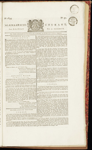 Alkmaarsche Courant 1834-12-22