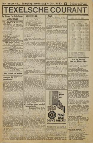 Texelsche Courant 1933