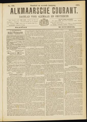 Alkmaarsche Courant 1905-11-20