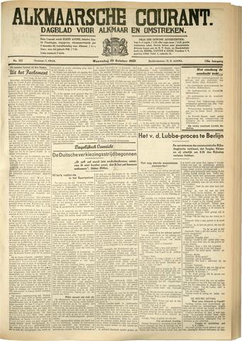 Alkmaarsche Courant 1933-10-25