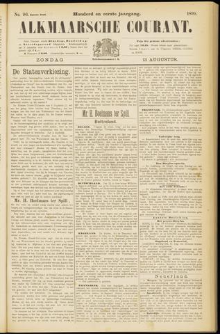 Alkmaarsche Courant 1899-08-13