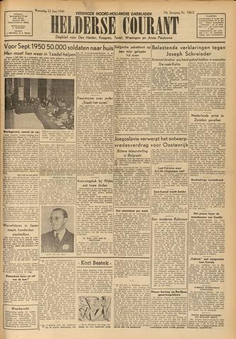 Heldersche Courant 1949-06-22