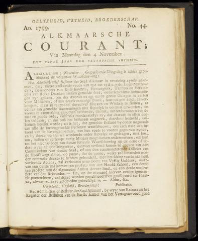 Alkmaarsche Courant 1799-11-04