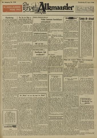 De Vrije Alkmaarder 1948-04-22