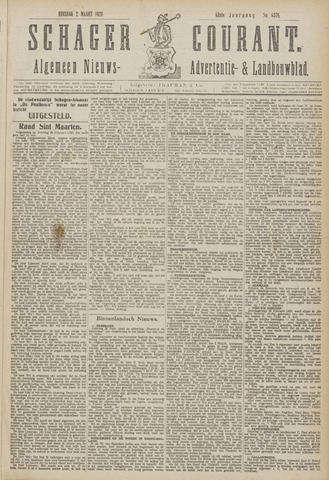 Schager Courant 1920-03-02