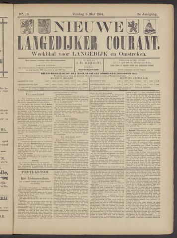 Nieuwe Langedijker Courant 1894-05-06