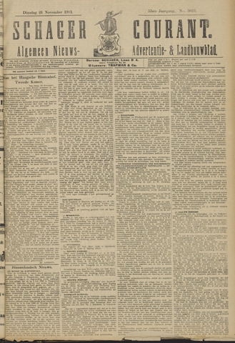 Schager Courant 1911-11-21