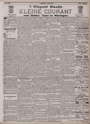 Vliegend blaadje : nieuws- en advertentiebode voor Den Helder 1902-04-05