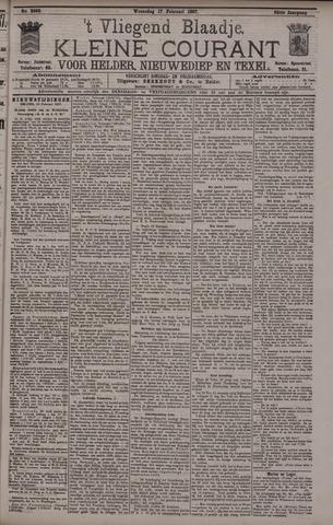 Vliegend blaadje : nieuws- en advertentiebode voor Den Helder 1897-02-17