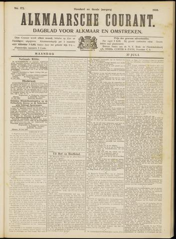 Alkmaarsche Courant 1908-07-27