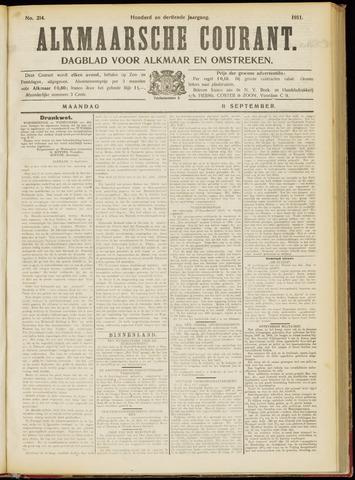 Alkmaarsche Courant 1911-09-11