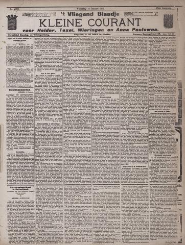 Vliegend blaadje : nieuws- en advertentiebode voor Den Helder 1914-01-14