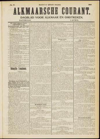 Alkmaarsche Courant 1913-04-05