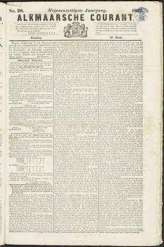 Alkmaarsche Courant 1867-06-30