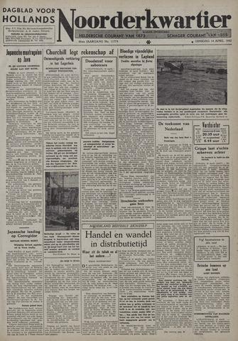 Dagblad voor Hollands Noorderkwartier 1942-04-14