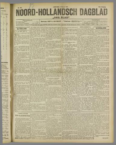 Ons Blad : katholiek nieuwsblad voor N-H 1922-02-09