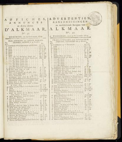 Alkmaarsche Courant 1813-10-13