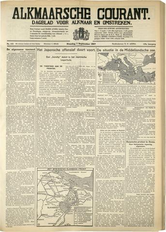 Alkmaarsche Courant 1937-09-07