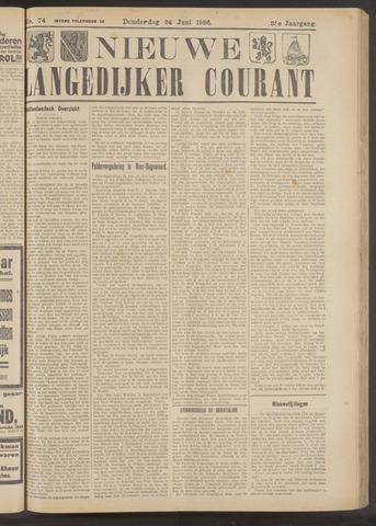 Nieuwe Langedijker Courant 1926-06-24