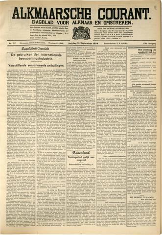 Alkmaarsche Courant 1934-09-14