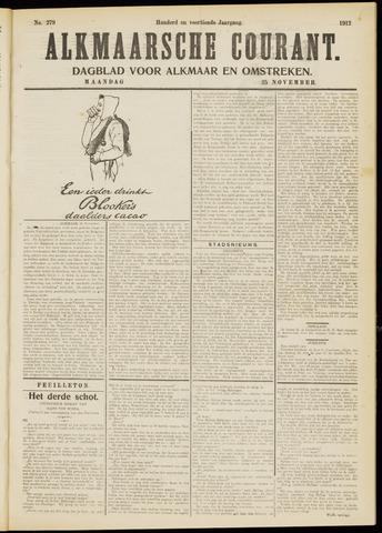 Alkmaarsche Courant 1912-11-25