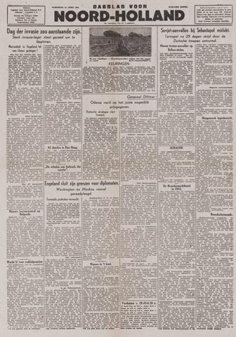 Dagblad Noord-Holland, Schager editie 1944-04-19