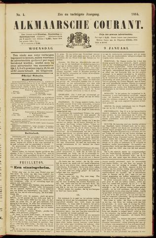 Alkmaarsche Courant 1884-01-09