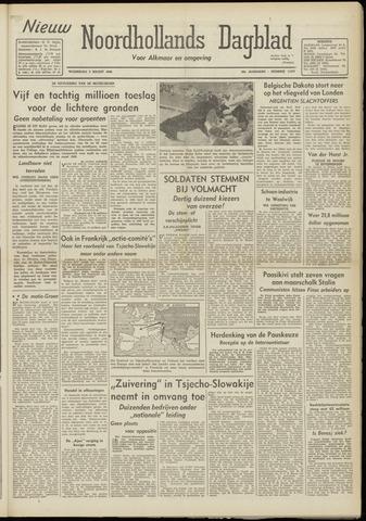 Nieuw Noordhollandsch Dagblad : voor Alkmaar en omgeving 1948-03-03