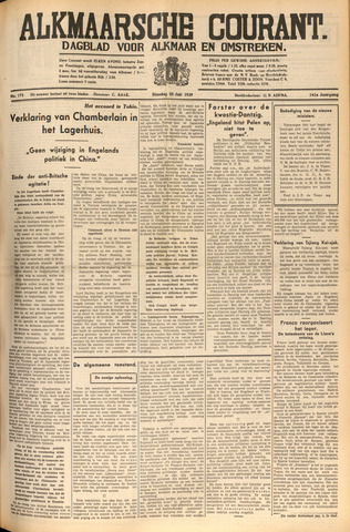 Alkmaarsche Courant 1939-07-25