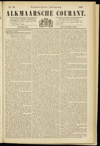 Alkmaarsche Courant 1888-02-19