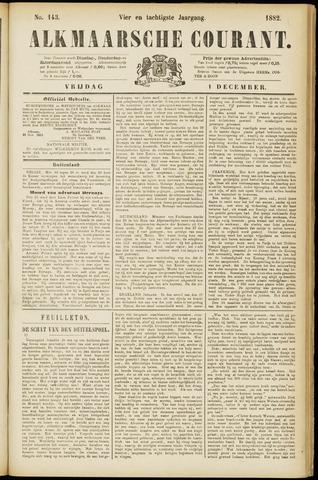 Alkmaarsche Courant 1882-12-01