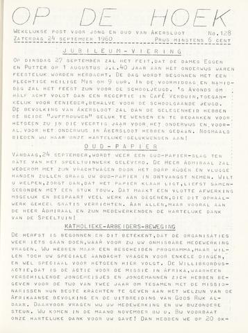Op De Hoek, weekblad voor Akersloot 1960-09-24