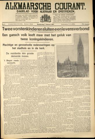 Alkmaarsche Courant 1937-01-07