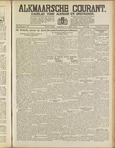 Alkmaarsche Courant 1941-06-12