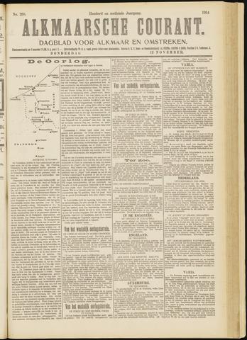 Alkmaarsche Courant 1914-11-12