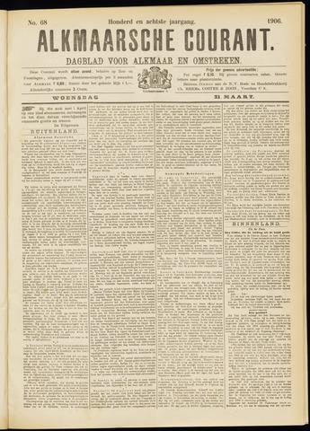 Alkmaarsche Courant 1906-03-21