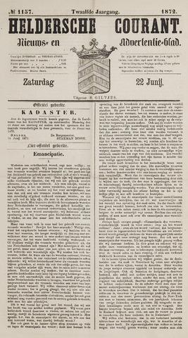 Heldersche Courant 1872-06-22