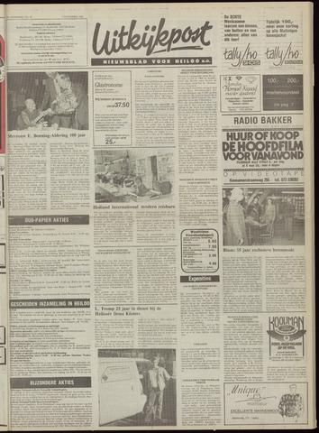 Uitkijkpost : nieuwsblad voor Heiloo e.o. 1984-11-07